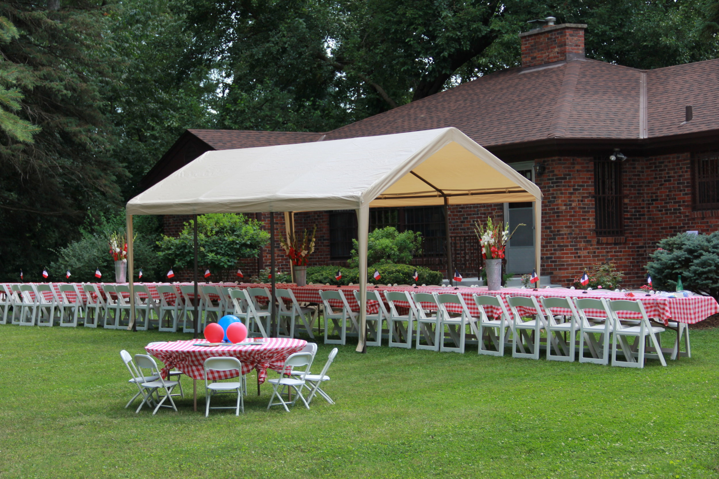 Our lovely venue for the day's fête.