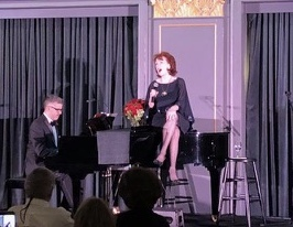 Chanteuse Anne-Marie Kenny with Sean Kelly, pianiste.