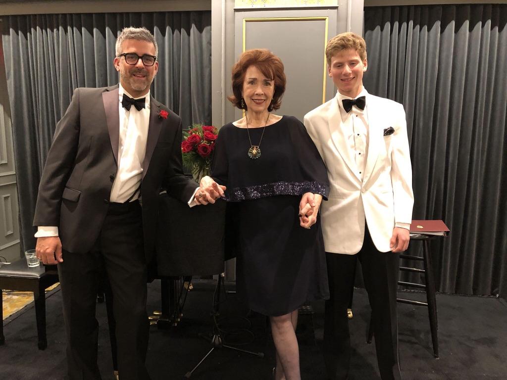 Cabaret Performers Sean Kelly, Anne-Marie Kenny and Daniel Denenberg.