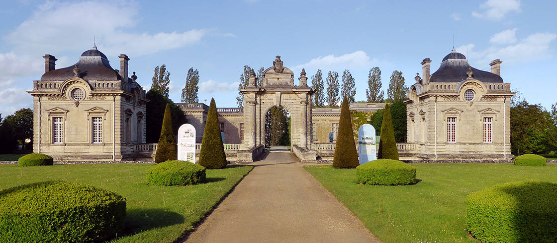 The Franco-American Museum, Château de Blérancourt in Picardy, France.