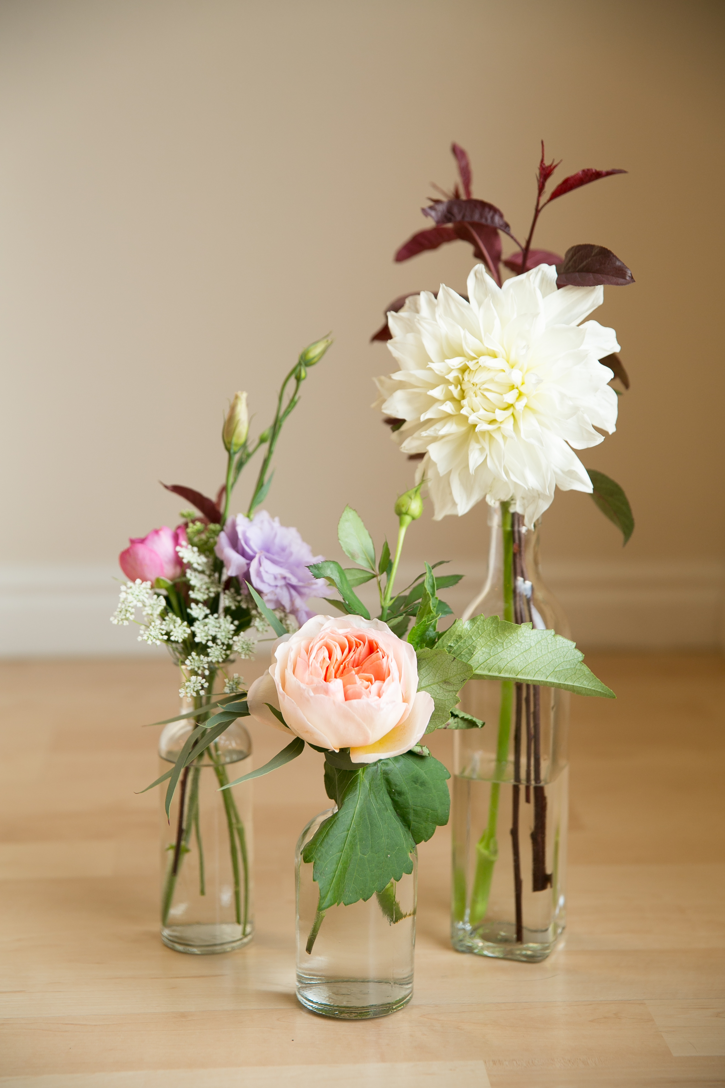 Garden bouquet by Blushing Rose Floral