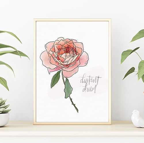 Botanical Art Prints -