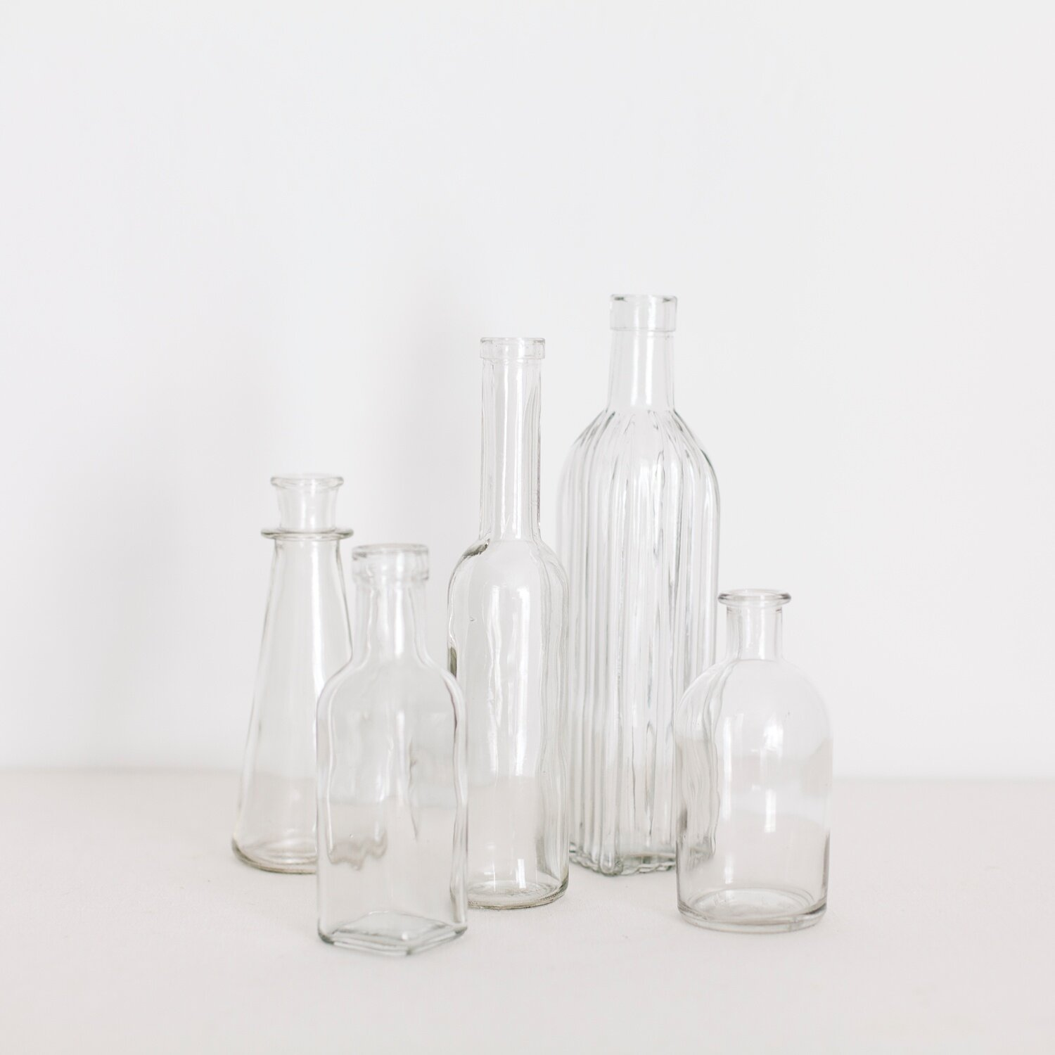 VINTAGE BUD VASE COLLECTION  $ 1.00 / 100 in stock Includes additional styles (not pictured)