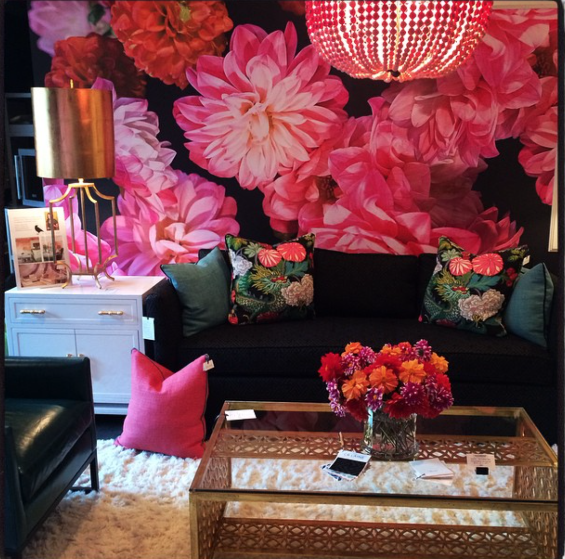 CR Laine Showroom ... Tracy Hiner Wallpaper