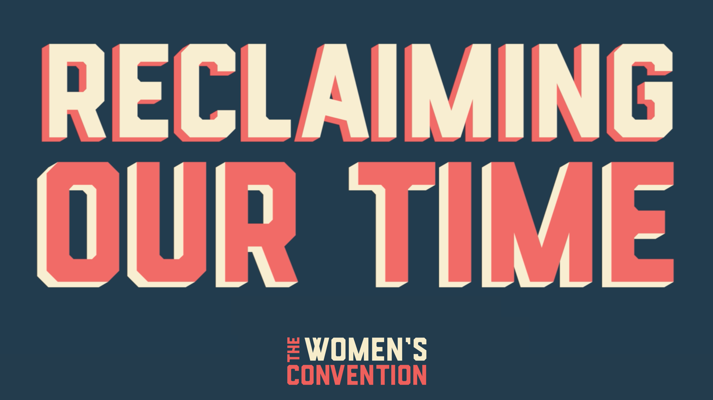 Women's Convention Social Media Graphic