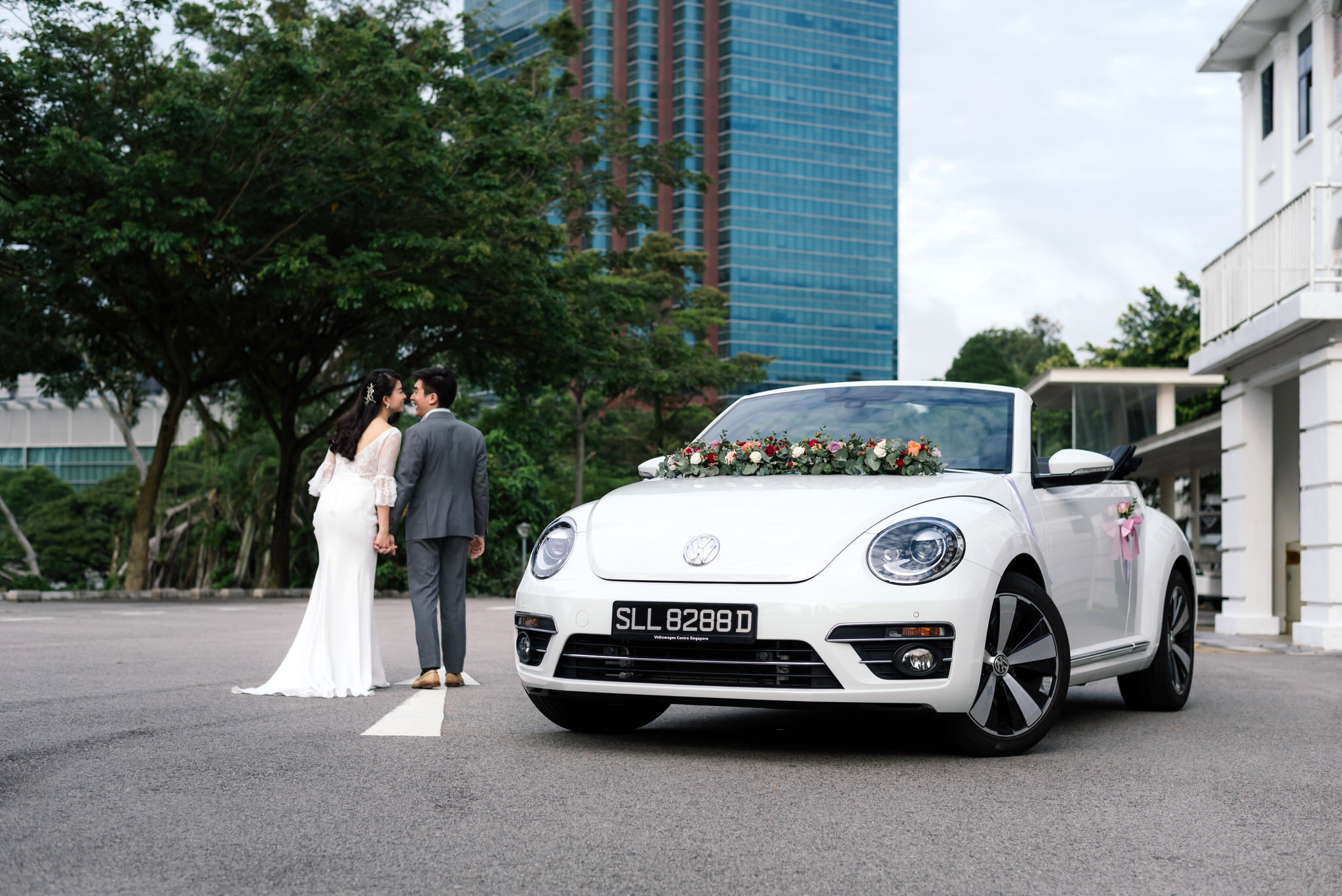 Car Club Wedding Beetle ( Discounted rates available for our couples)   At Car Club, we know it's extremely important to make every part of your special day memorable.  With over 20 years of experience in mobility solutions, our wedding car rental service offers every wedding couple a touch of elegance & glitz, with our chic-looking Volkswagen Beetle Cabriolet and Coupe.  Whether you are looking for a bespoke pre-wedding shoot or grand entry on your big day, our high-quality cars and competitive rates will let you travel in style without exceeding budget.  Get more details  here  or WhatsApp us at +65 8522 5359 for a non-obligatory quote.