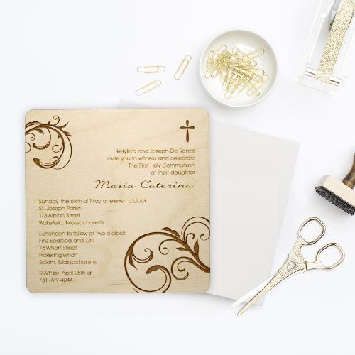 1st Communion Invitation