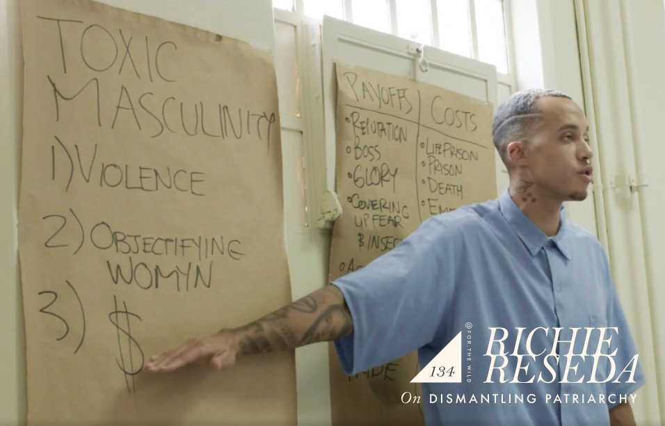 Image from the documentary: The Feminist on Cellblock Y