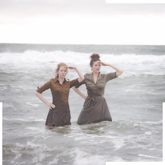 Alicia Escott and Heidi Quante