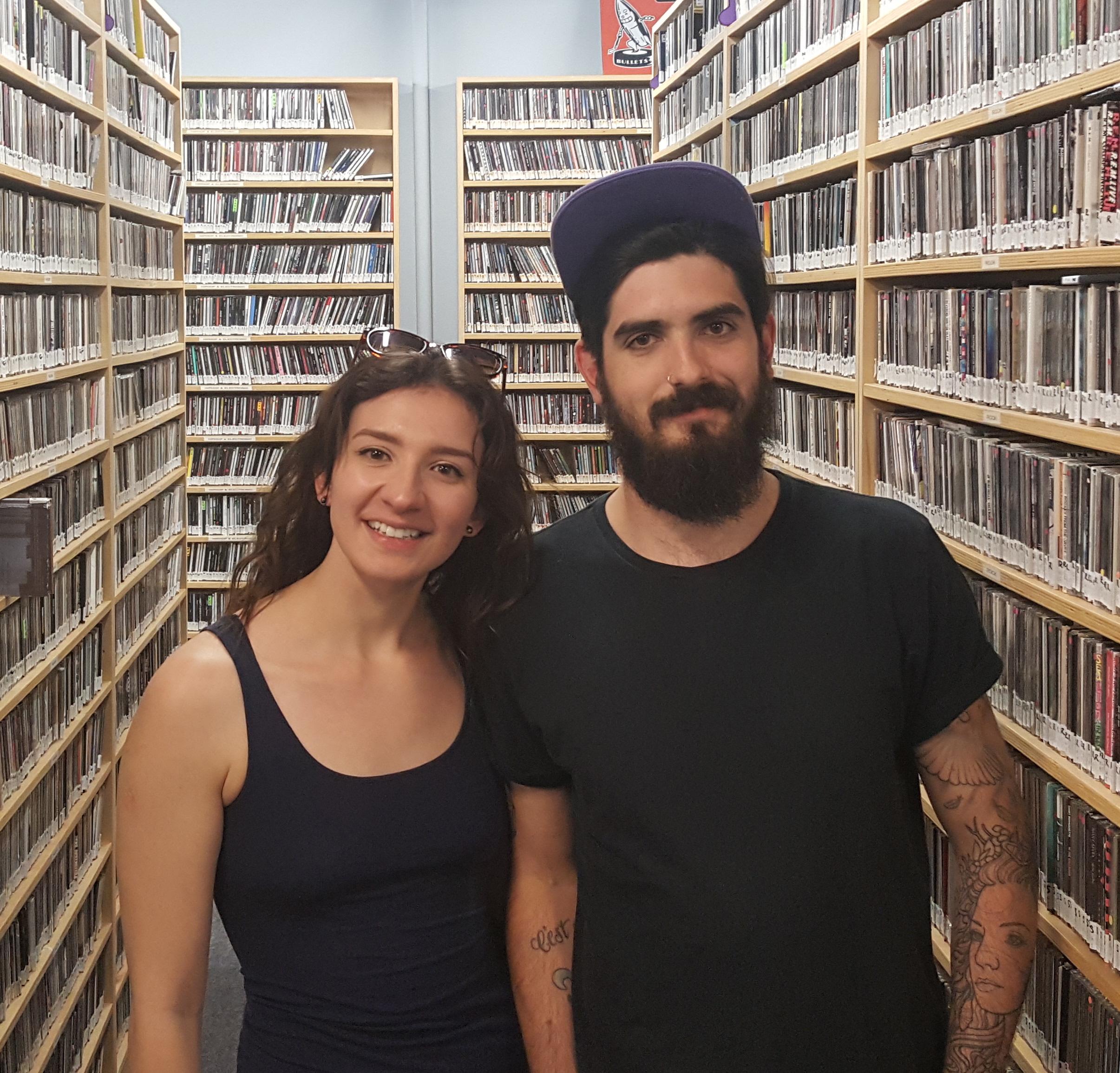 Ashley Bieniarz and Jacques Richer