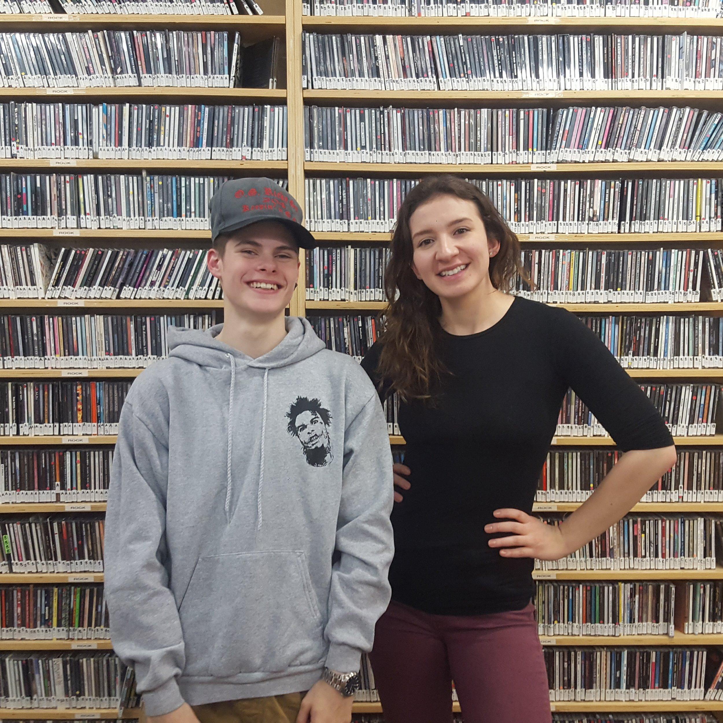 O.G. Ricky Gee and Ashley Bieniarz