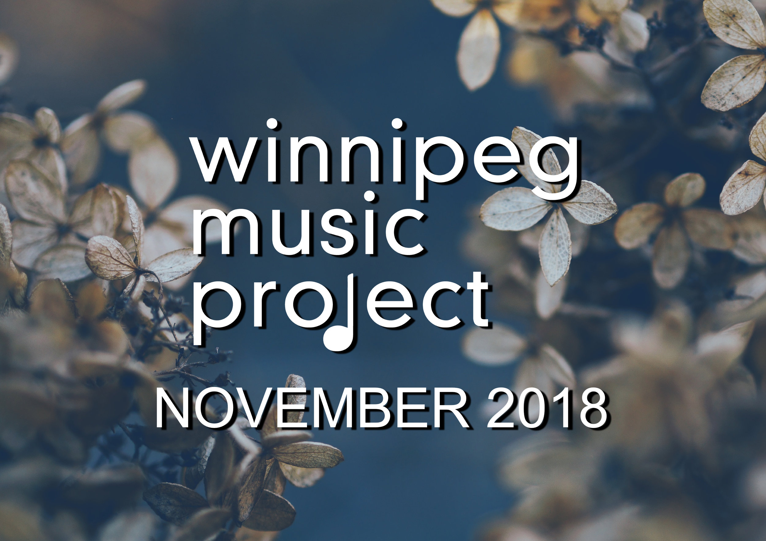 Winnipeg Music Project November 2018