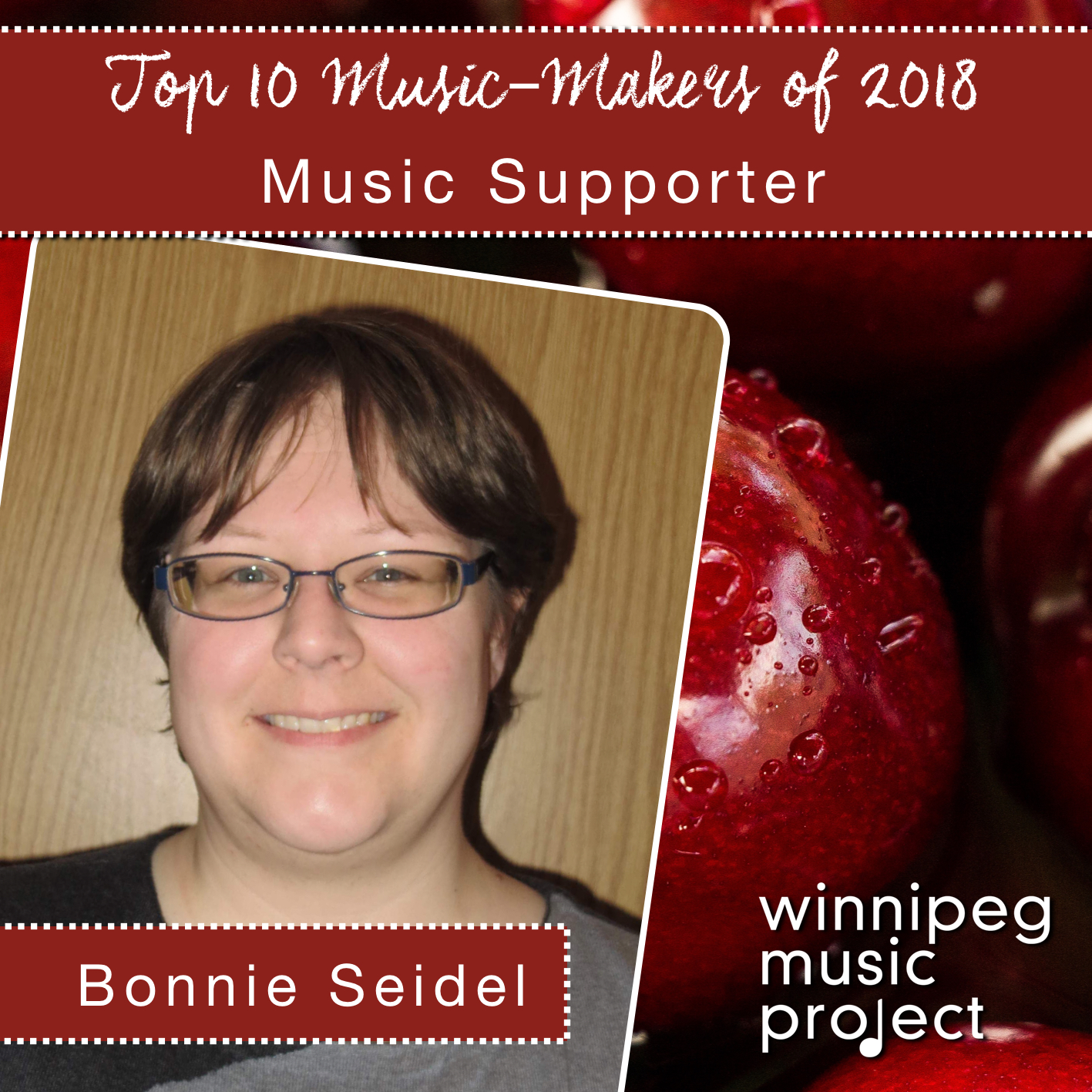 Bonnie Seidel | Top 10 Music Maker of 2018 | Winnipeg Music Project