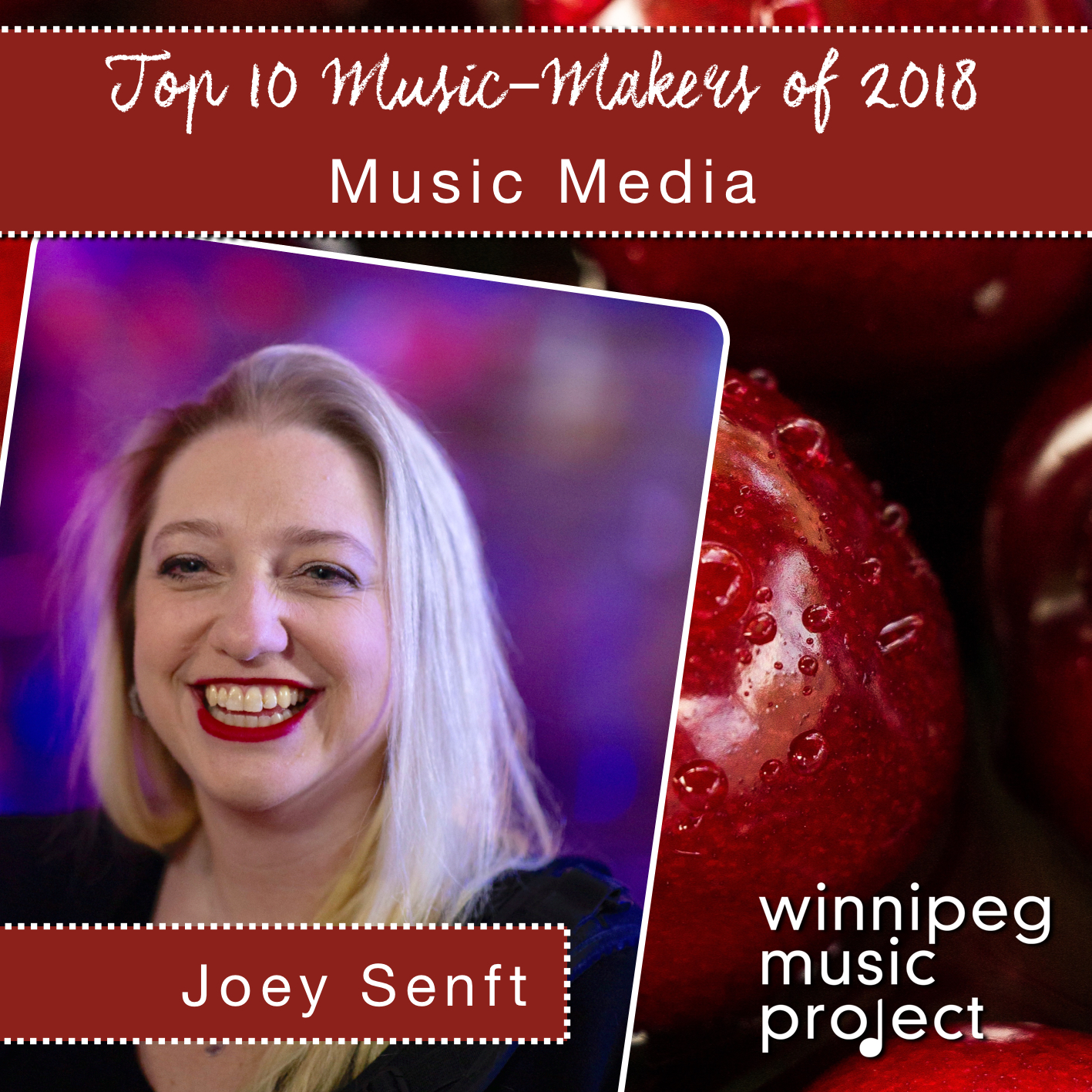 Joey Senft | Top 10 Music- Makers of 2018 | Winnipeg Music Project