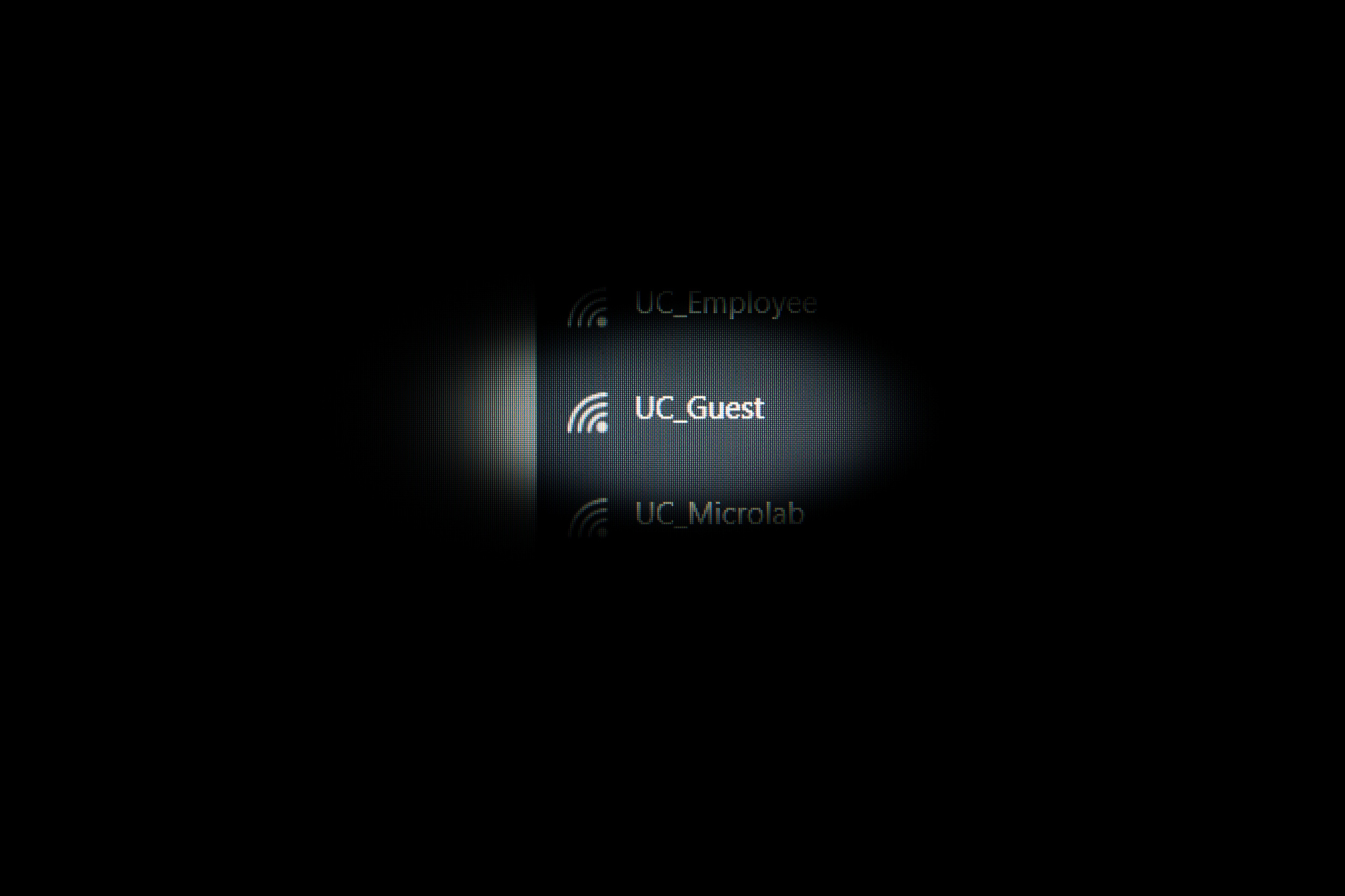 Connecting to UC_Guest during Acrofest and in the future will lead to slower connectivity.