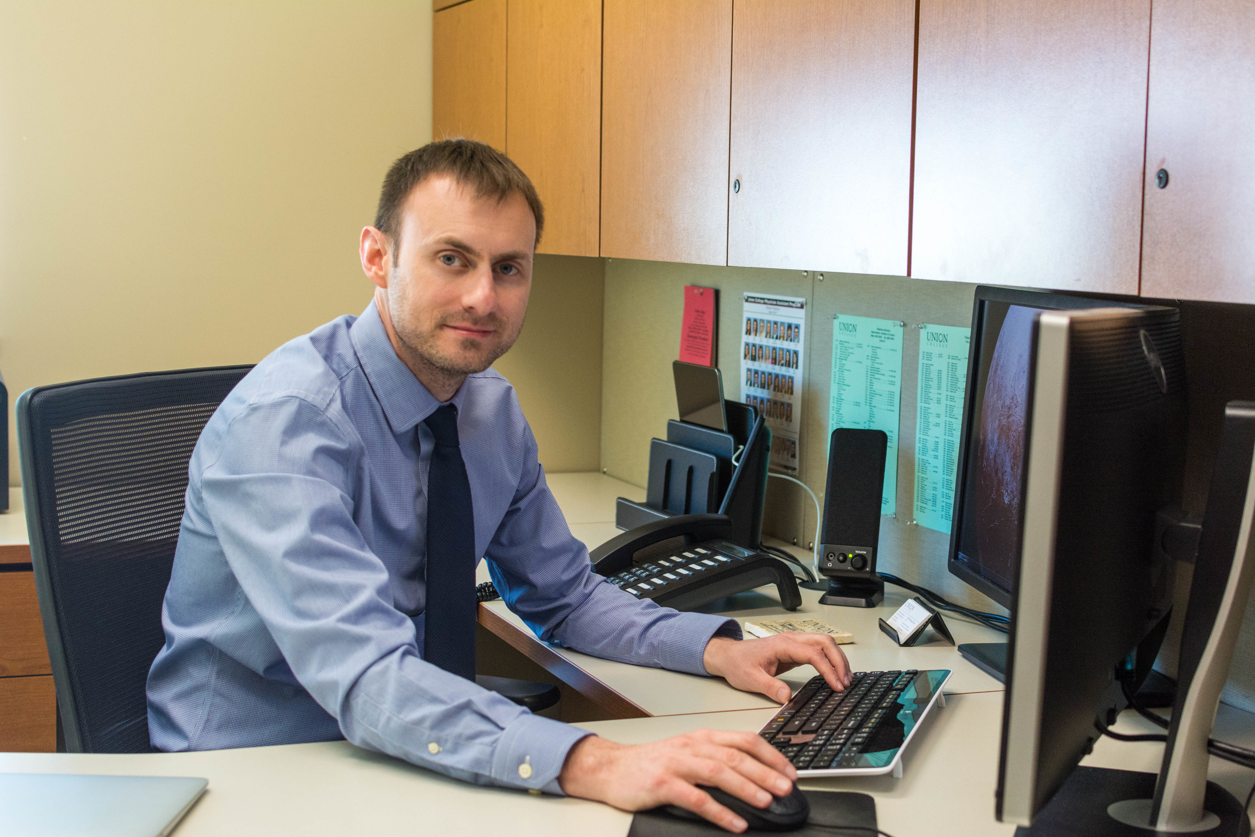 Dr. Frankie Rose will transition to his new office on June 1 // Zach Morrison