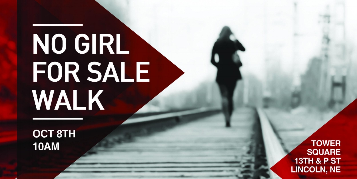 No Girl for Sale Walk banner | PC: Paul Yates