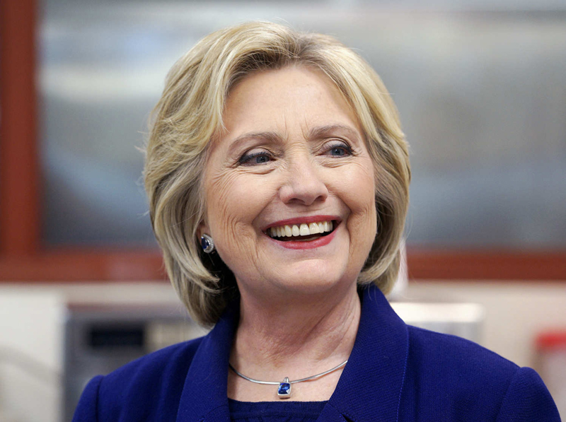 Hillary Clinton   PC:   bongocelebrity.com