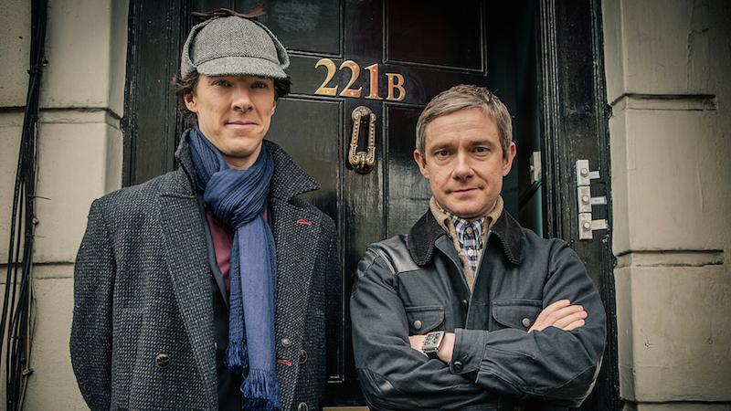 Sherlock, left and his crime solving partner, Watson, return 2017 in a new season. | PC: pbs.org