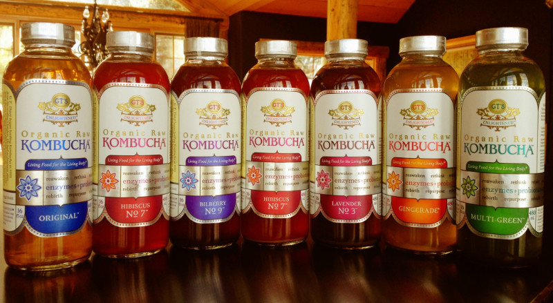 Pictured is the most popular form of kombucha soda sold in health stores. | PC: 4hopehealthnhappiness.com