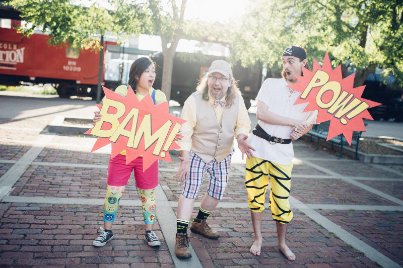 The reformed band wearing some mighty magical pants. | PC: Mike Mennard