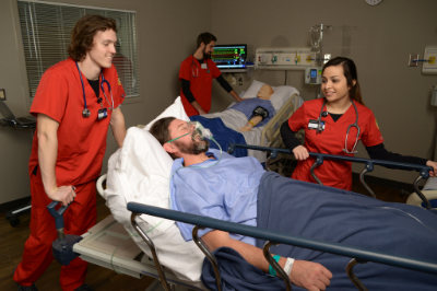 The simulation center is one training method students feel prepares them for real world experiences. | PC: Integrated Marketing Communications