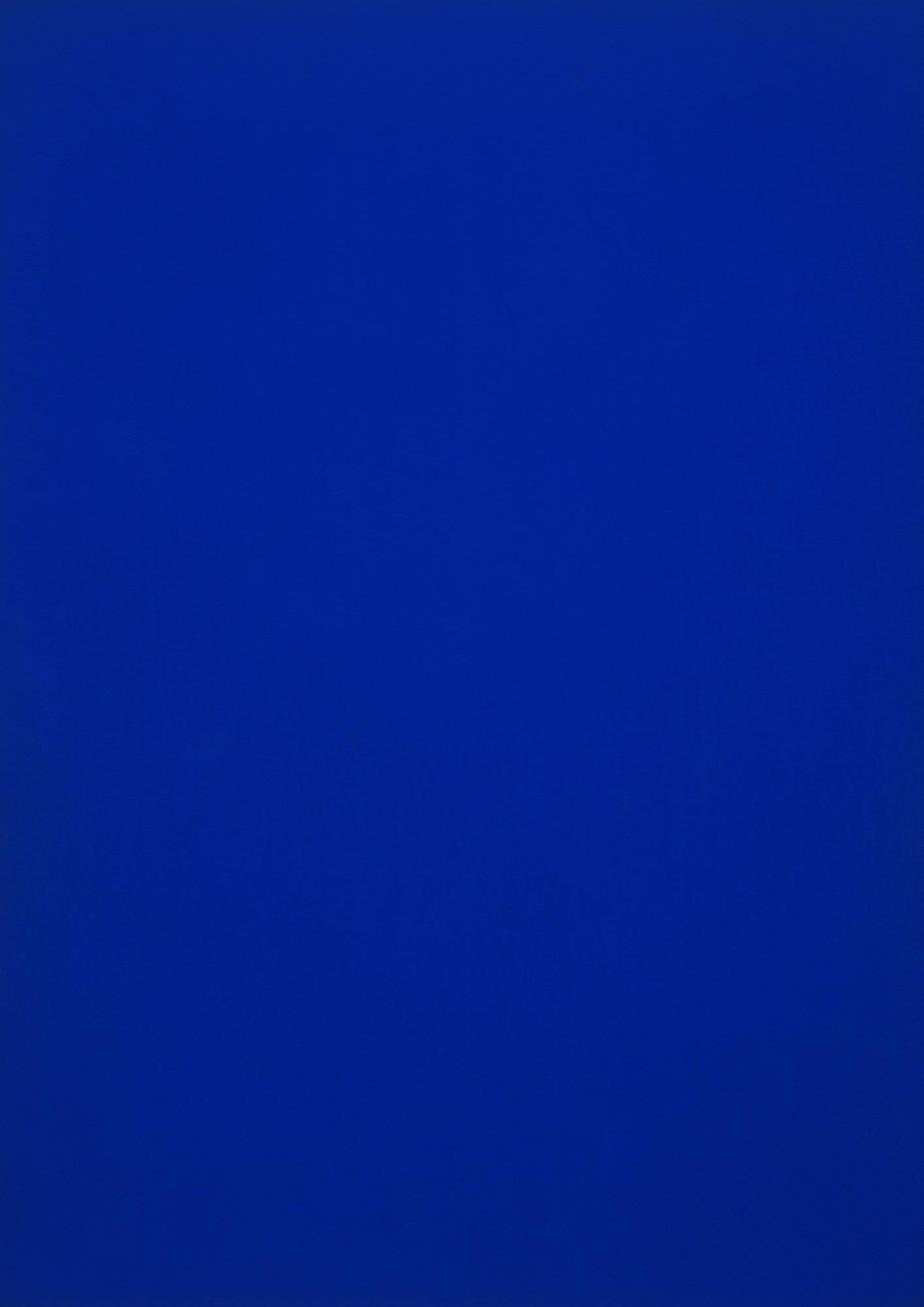 Blue Monochrome (1961) | PC: moma.org