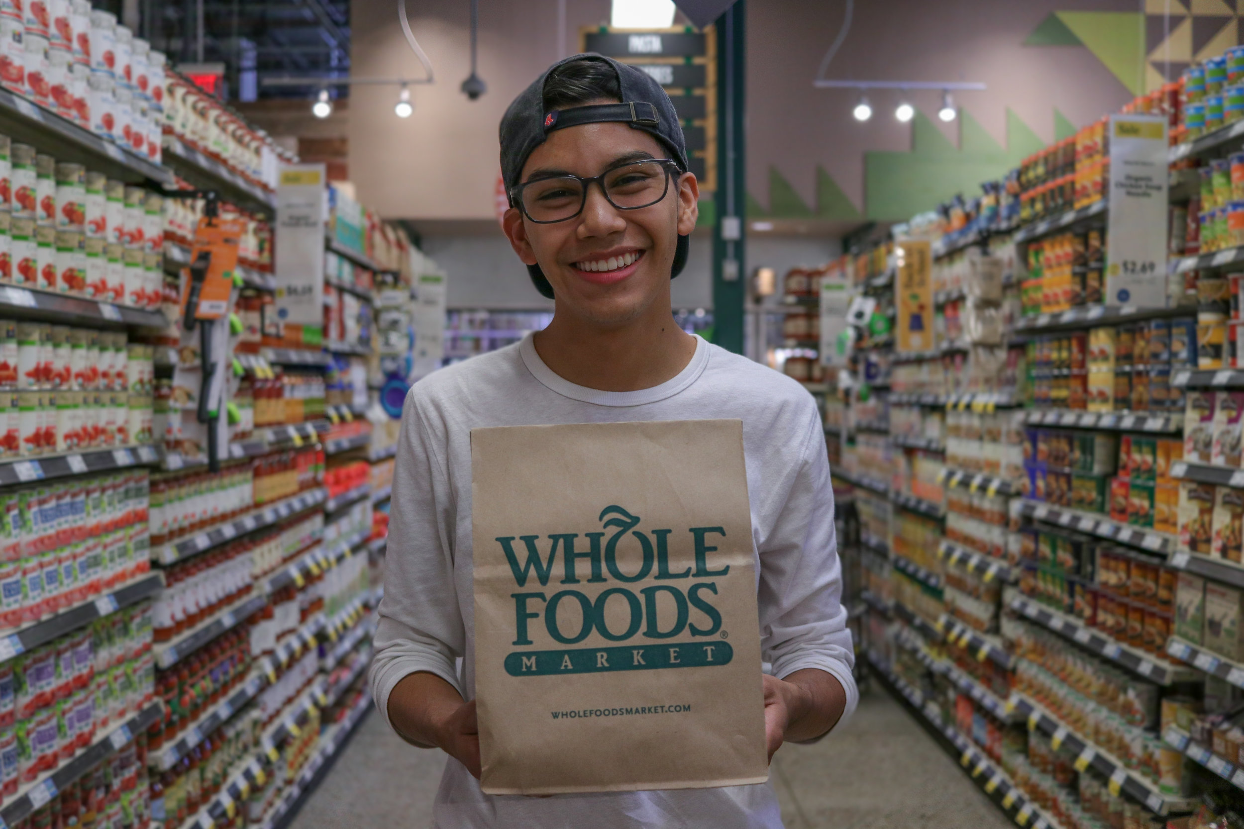 Whole Foods, now able to fit even the most student-sized of budgets. PC: Sally Becker