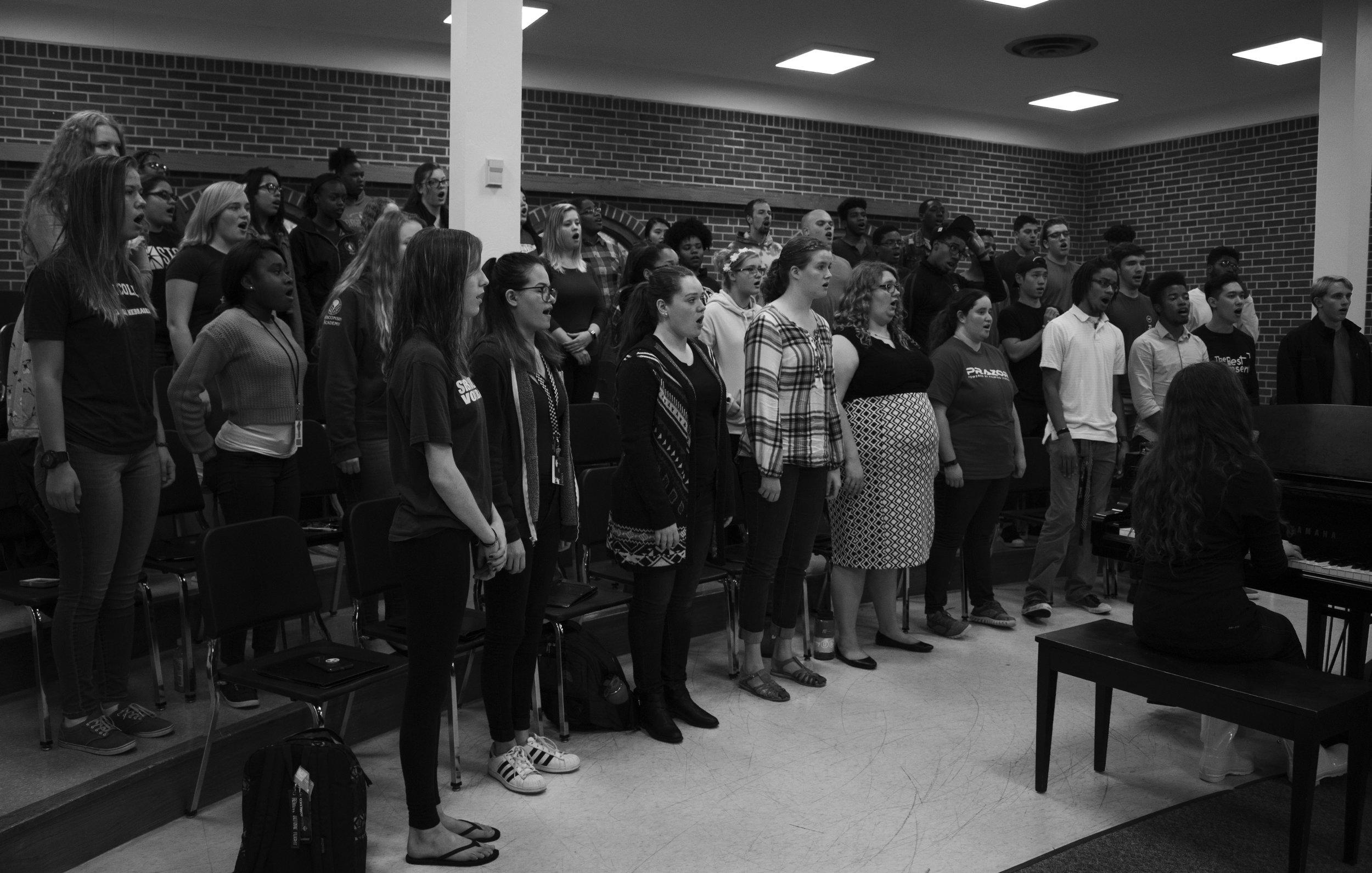 The Unionaires embrace Lincoln's music culture. PC: Kayla Potts