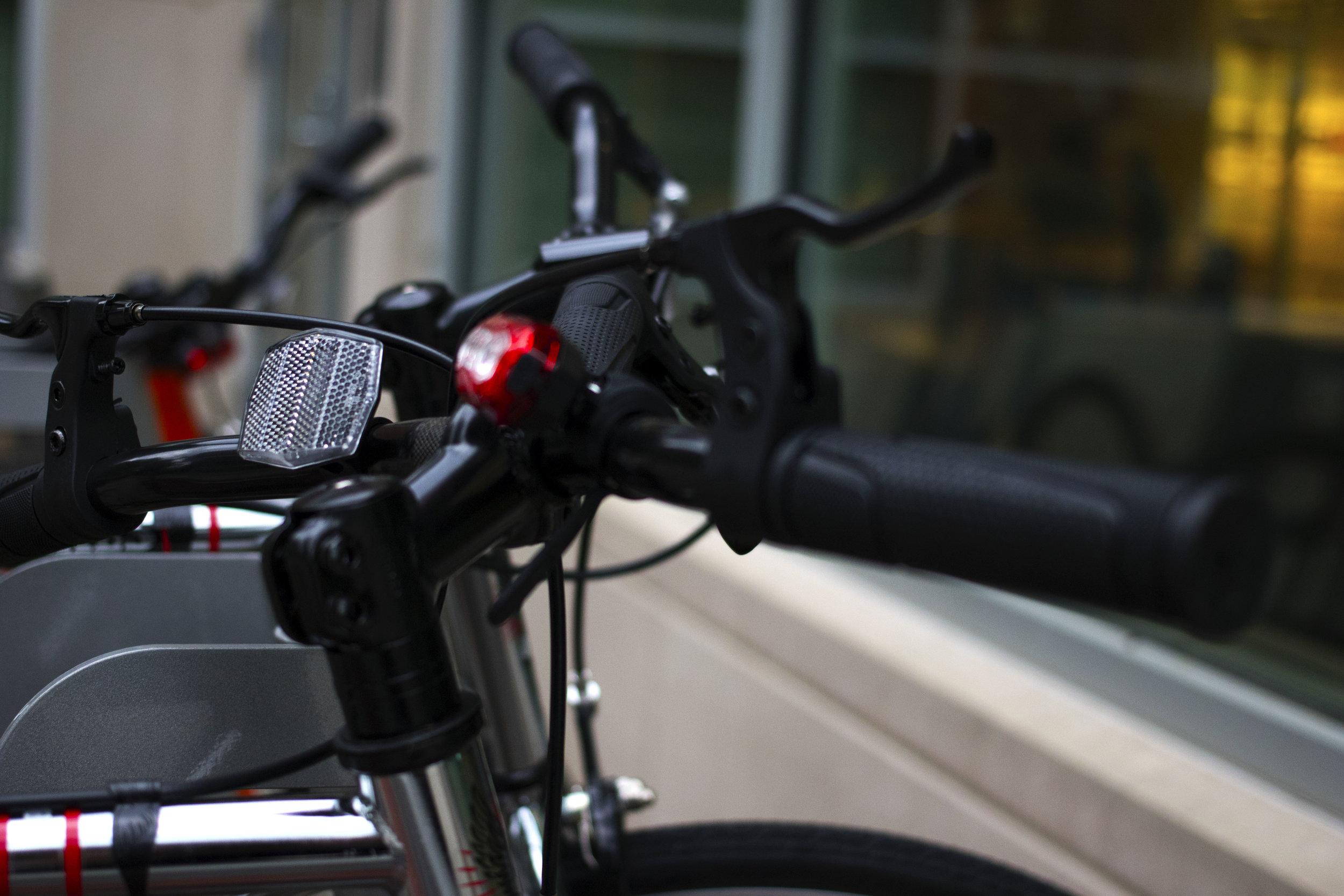 """""""Biking - cheaper than an Uber."""" PC: Kayla Potts"""