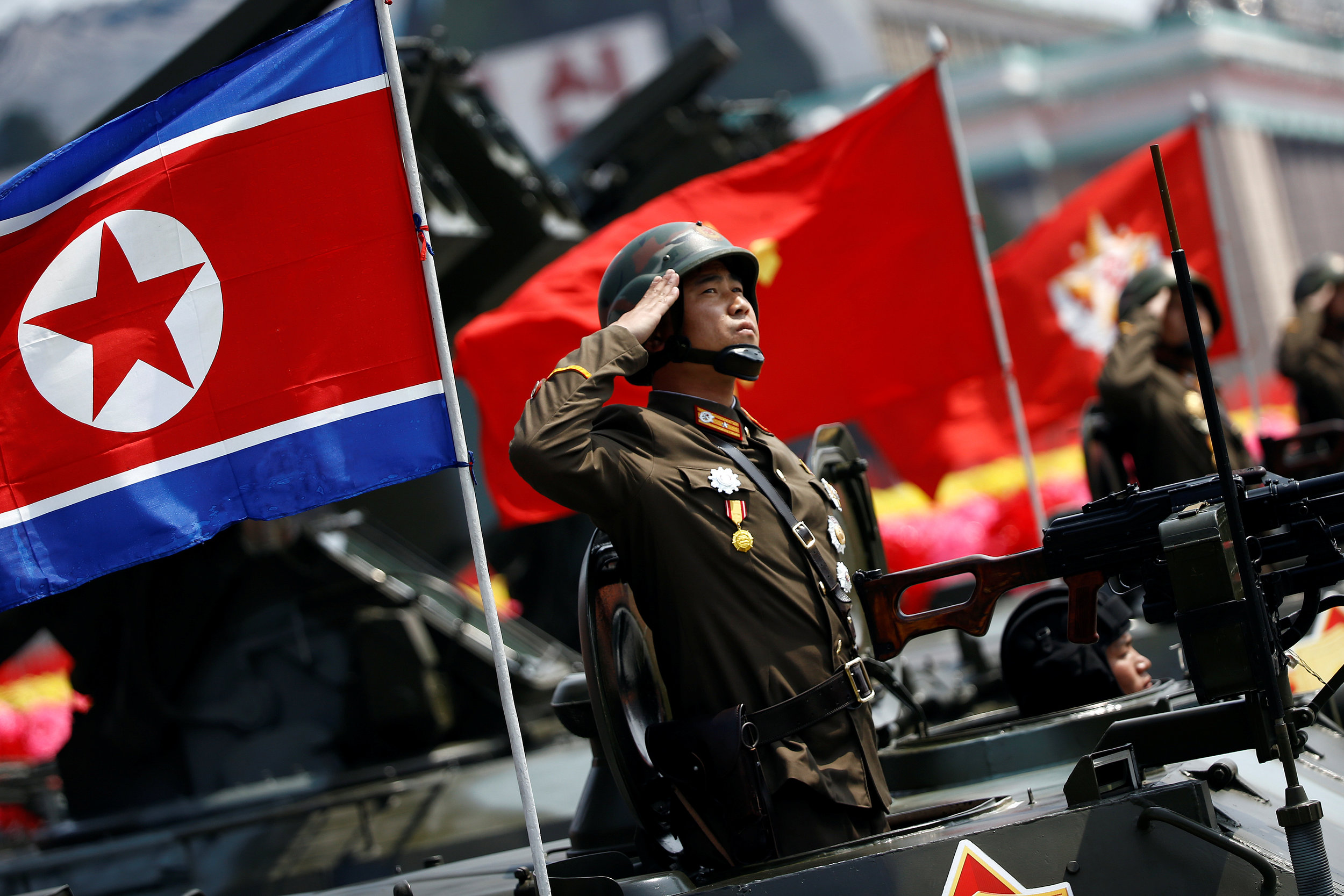 North Korean has been developing its military for years. PC: brookings.edu