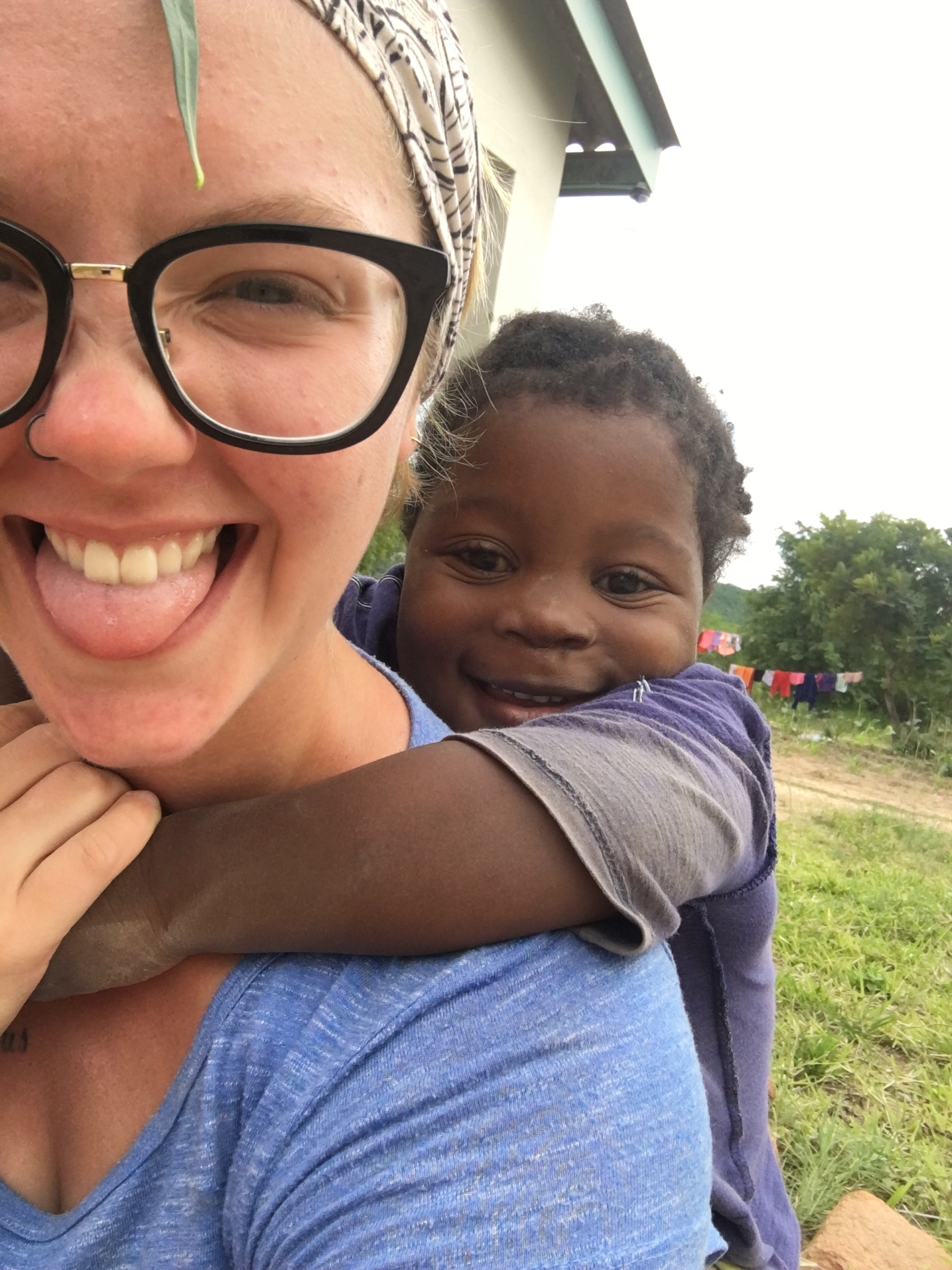 Student missionaries get to connect with kids of all ages overseas | PC: Keelia Trively