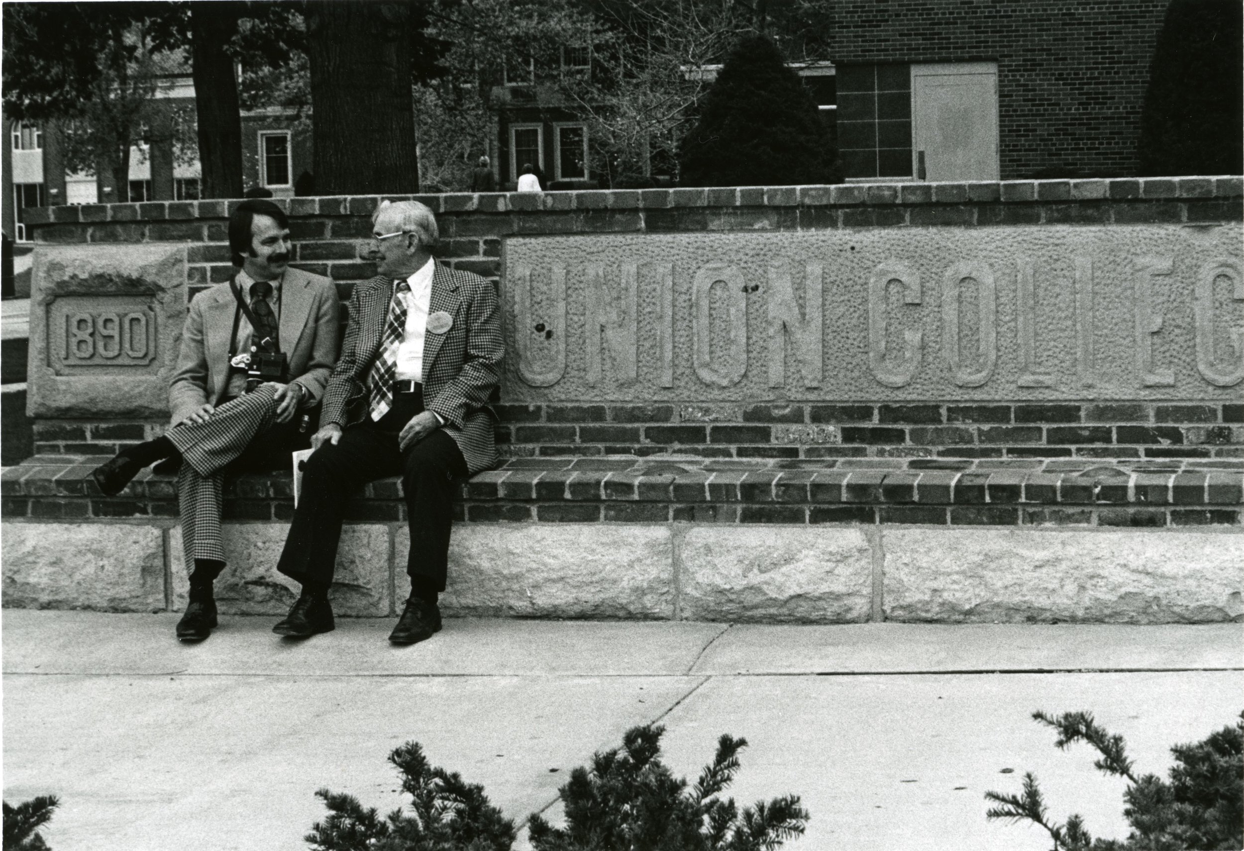 Dr.Dick and son Arthur Dick C.1970s | PC: Union College Heritage Room