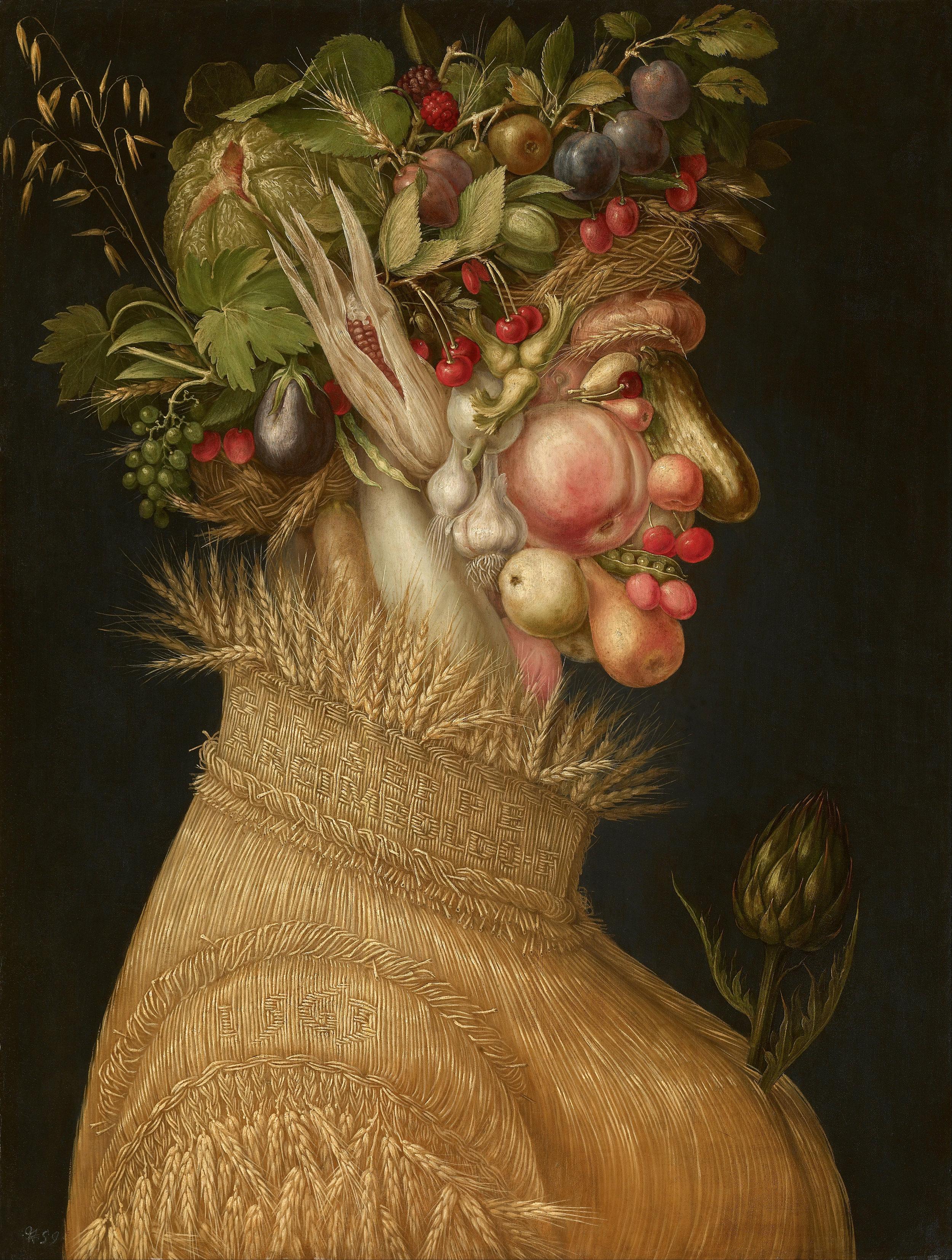 Summer, 1572, Kunsthistorisches Museum, Vienna  PC: Wikimedia Commons