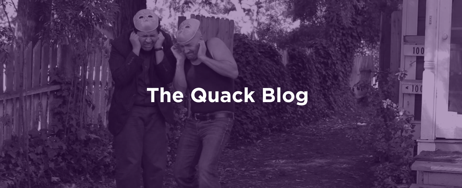 Get Your Flat Quack News (and Entertainment) All In One Place   Visit our blog to get a first look at movie trailers, project updates, audio sketches and more.