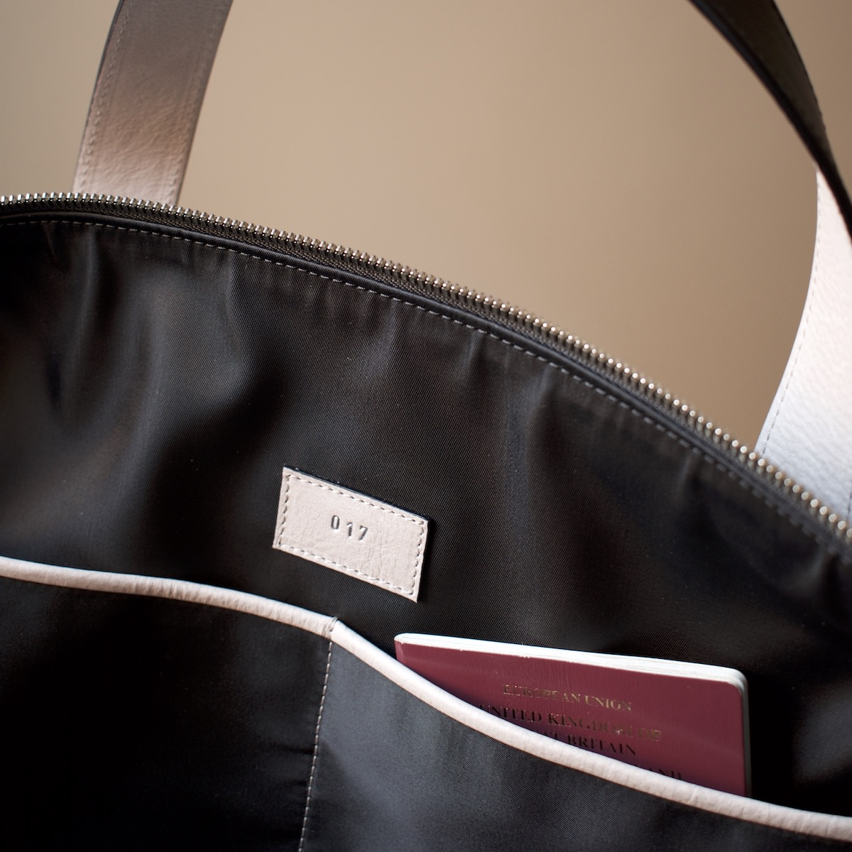 Each bag is individually numbered