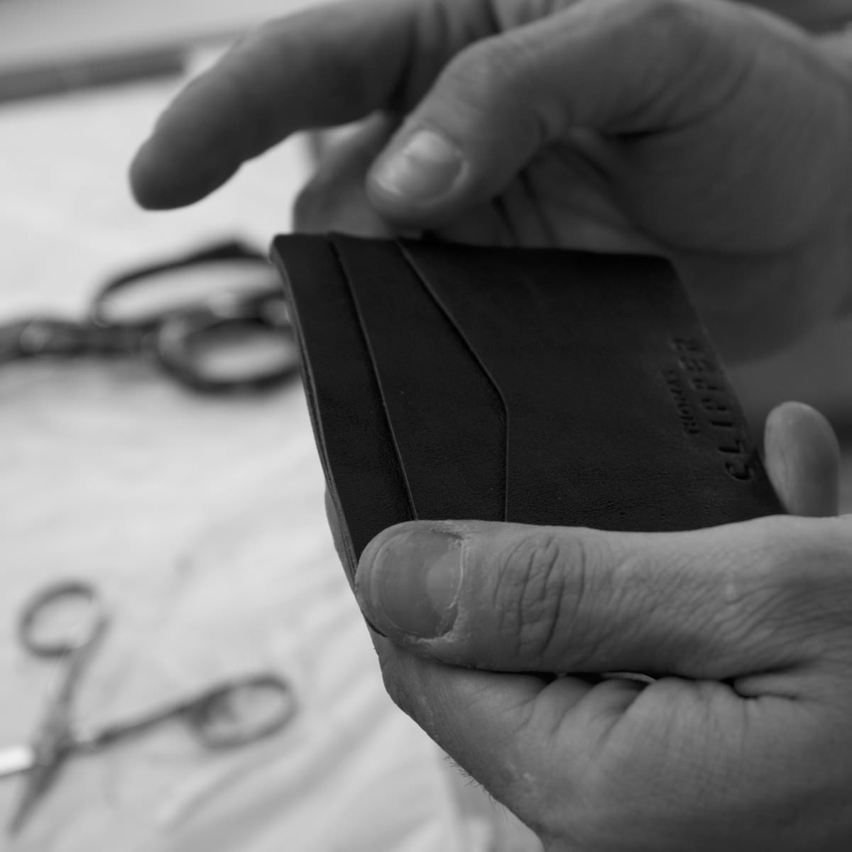 The small leather goods require an expertise that comes with decades of experience