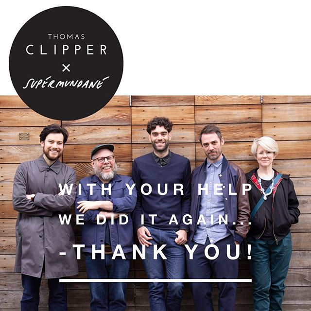 Our fourth successful @kickstarter campaign. As always, you made it happen. Thank you!