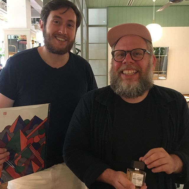 @nickcarvell of the brilliant @thejackalmag and the amazing @supermundane at a special preview event for Mountain. The first collaboration in the @britishgq fragrance of 2019 UNITE range.  With thanks to @mortimerhouse . . . . #thomasclipper #nichecolognes #parfum #rareparfum #cologne #dothingsdifferently #nichefragrances #menscologne #handmade #mensfragrance #rareperfume #craftsmanship #craft #smallbatch #limitededition #genuine #real #luxury #lifestyle #menslifestyle