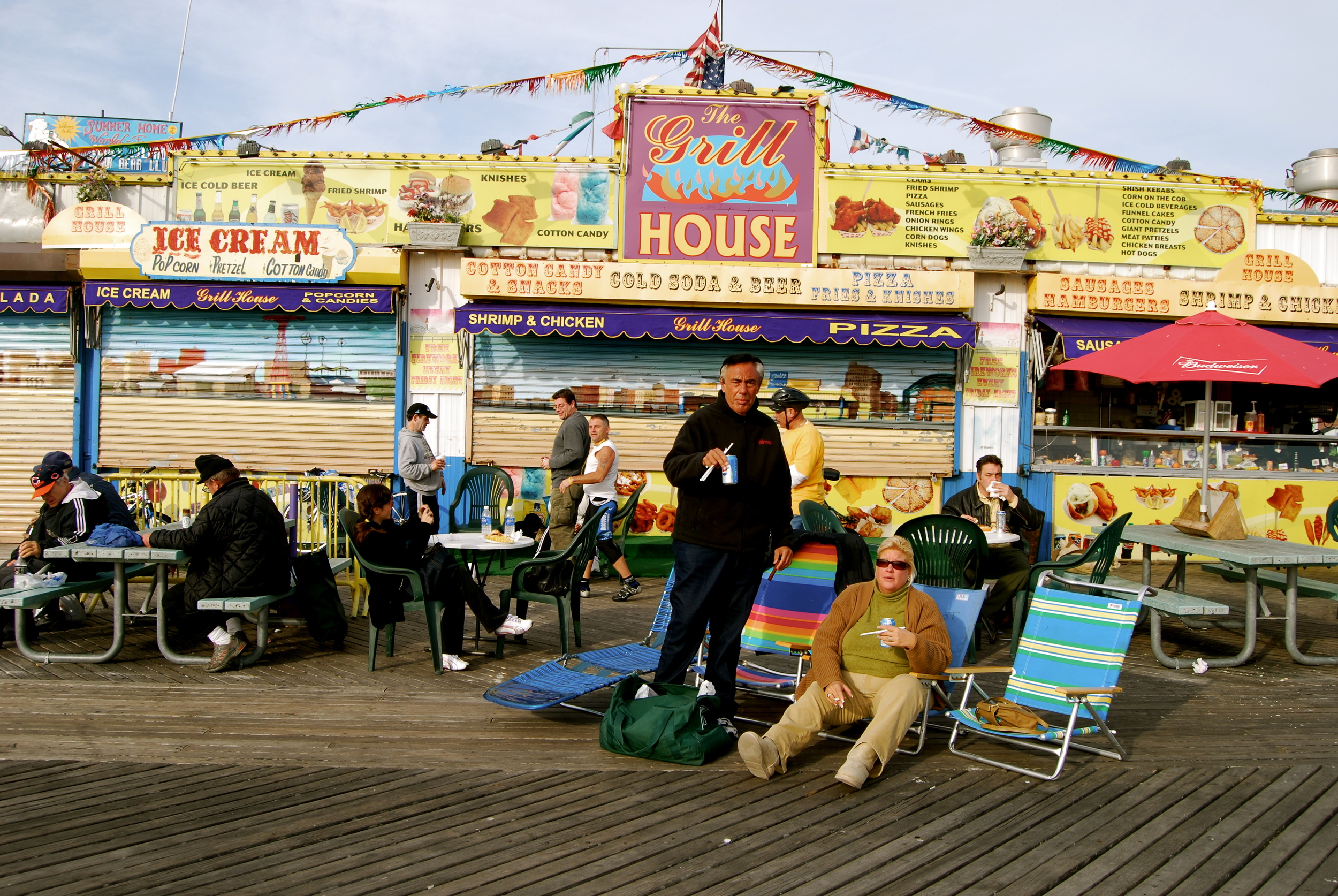 Coney Island, New York. January 2008