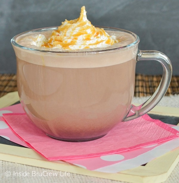 The Salted Caramel Mocha. Photo and recipe by BruCrew Life