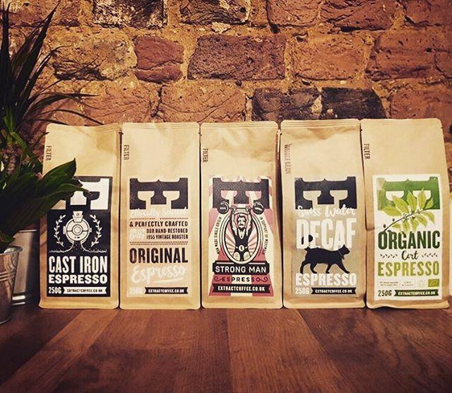 UKCW - 2018 - Extract roasters coffee bags - Extract.jpg