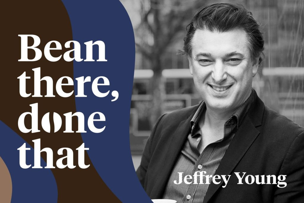 Jeffrey Young featuring on the iZettle podcast: Bean There Done That