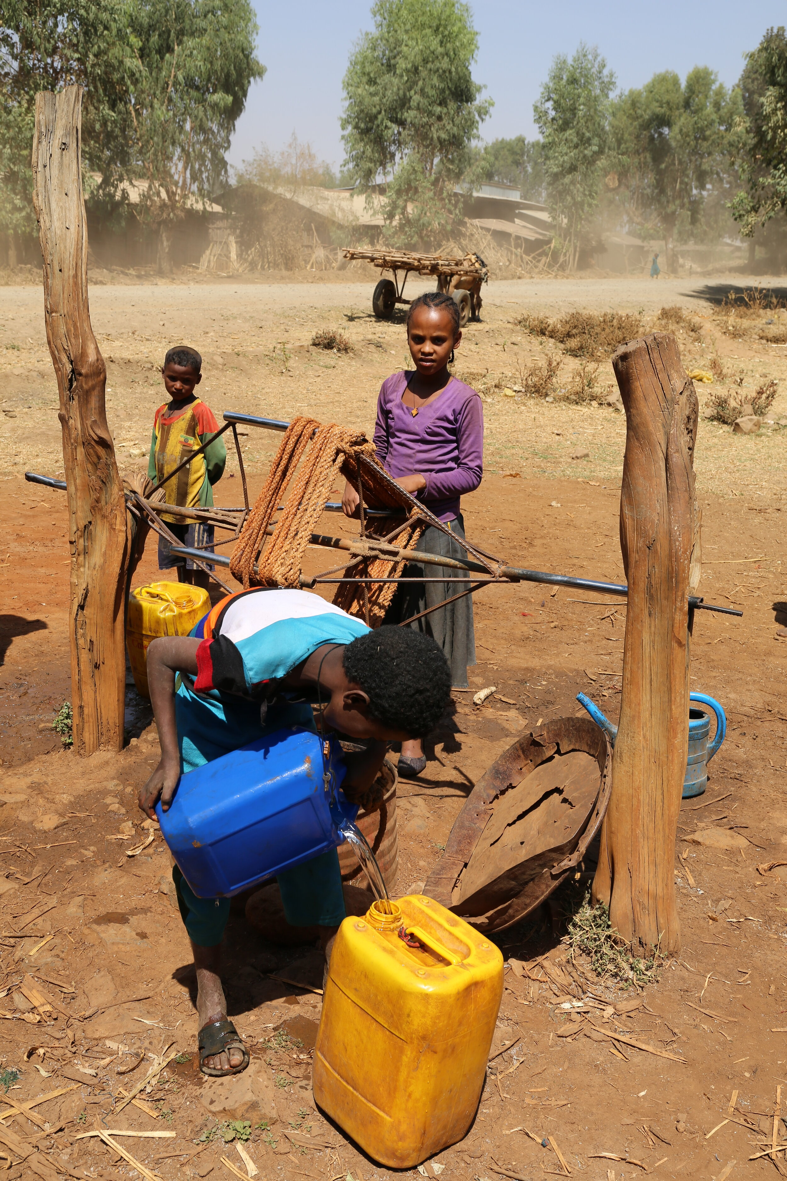 Only  39%  of the population in Ethiopia have access to basic safe water.   Photo: WaterAid