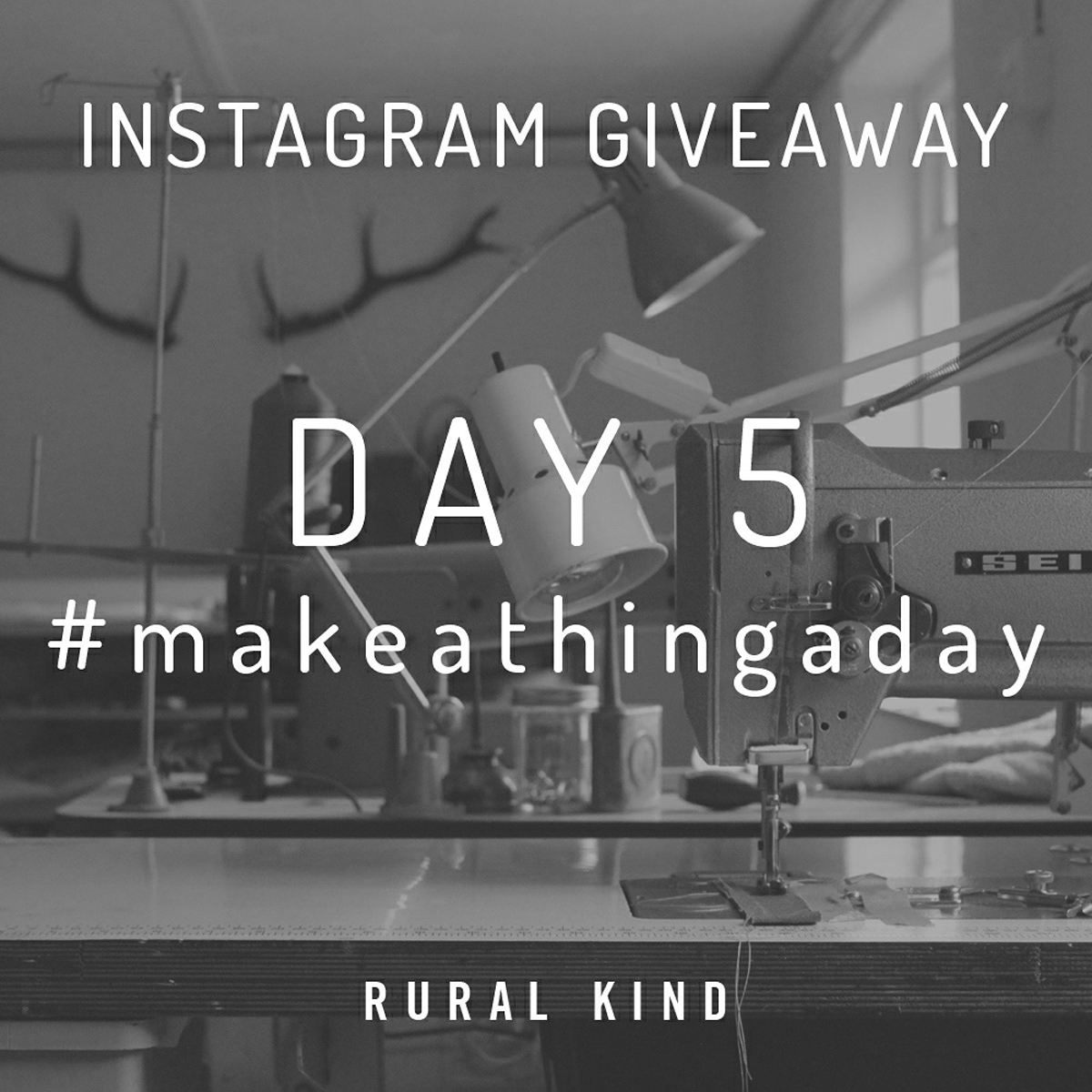 #makeathingaday DAY 5 - FINAL DAY! Todays thing to be made is going to be a gently rugged workshop type of apron. It's something that we've wanted to make for such a long time and this final day seems like the perfect opportunity. Let's hope it's a goodn!