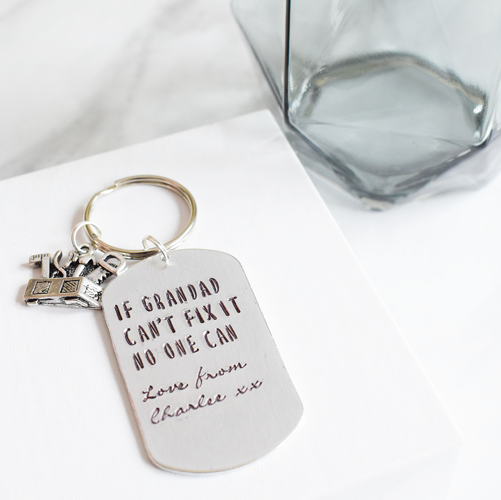 if grandad cant fix is no once can personalised fathers day keyring.png