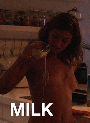 Milk - Julia Roca and Vic Leon find themselves in a beautiful, luxury apartment for this lustful, intense short.