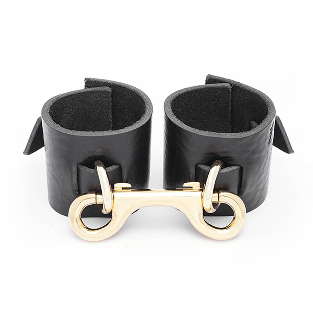 janice leather handcuffs