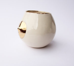 gold tipped nip cup