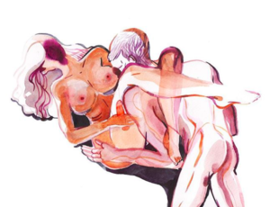 erotic watercolor